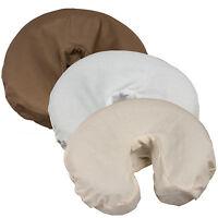 Massage Face Cradle Covers Poly-Cotton 10pk