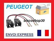 Peugeot 307 Hasta Que 2014 Car Altavoz Adaptador Bujía Lead Conectores