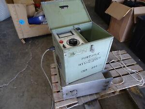 Hipotronics OC51M Portable Oil Tester Type BS14-1257