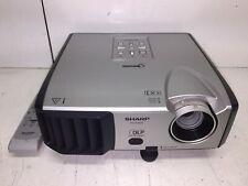 Sharp PG-F262X DLP Projector 2600 Lumens HD HDMI-adapter 1080i w/Remote!