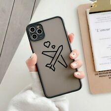 Luxury World Map Travel Phone Case For iPhone 12 11 Pro XR XS Max X Clear