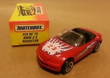Matchbox 1/57 BMW Z3 SPORTS ROADSTER #25 of 75 RARE