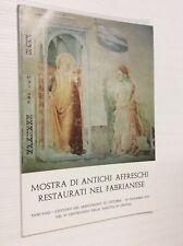 Mostra di antichi affreschi restaurati nel Fabrianese Fabriano