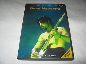 Dave Navarro - Instructional Guitar - Guitar Tutorial - DVD R1