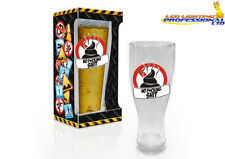BEER GLASS PINT BIRTHDAY GIFT PRESENT FUNNY RUDE CHEEKY - NO F*CKING HARDCORE