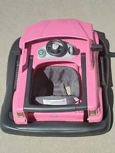 Bright Starts 3 Ways to Play Ford F-150 Baby Walker with Activity Station, Pink