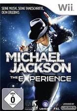 Nintendo Wii +Wii U MICHAEL JACKSON THE EXPERIENCE  Neuwertig