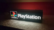 Playstation 1 Banner PS1 PSOne Advertising Lamp Baner Display Leuchtreklame