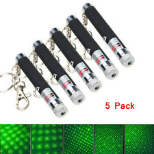 Key Chain Penholder Small Laser Flashlight Pointer Pen Key Ring Keyfobs BM