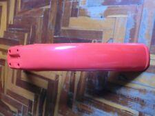 YAMAHA DT 125MX 86 - 91 FRONT FENDER NOS OEM 2X1-21511-20 DT 125 MX Red