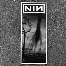 Nine Inch Nails Las Vegas The Joint 2018 show poster S/N *Chrome Foil*