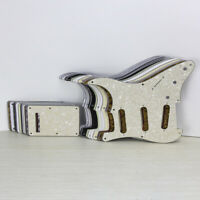 Set of Strat Guitar Pickguard SSS 8 Holes & Tremolo Cover for 50s Strat Guitar