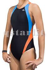 Girls Women Female Training Competitive Bathing Swimwear Swimsuit Size 22 -34