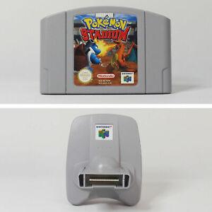 N64 Bundle Pokemon Stadium and Transfer Pak