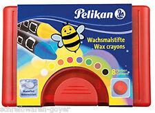 Wachsmalstifte Pelikan 723148 665/8 8Stifte  Bienenwachs Wachsstifte