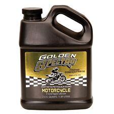 SPECTRO Golden 2-Cycle Semi-Synthetic Pre-Mix Motorcycle Oil - 64 oz - S.GSMC