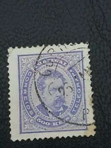 Stamp Portugal   1887 No 61- New Color  AA 2    ./Sellos