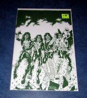 KISS ZOMBIES #1 1:25 RODNEY BUCHEMI green variant GENE SIMMONS DYNAMITE comic