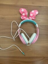 Minnie Mouse Headphones With Bow - Detachable Bow. New Without Packaging