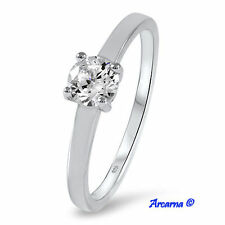Band Very Good Sterling Silver Fine Diamond Rings