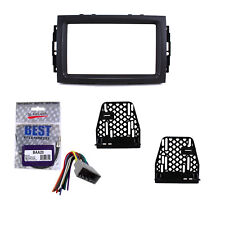 Radio Replacement Dash Mount Kit 2-DIN w/Harness/Antenna for Dodge