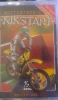 Kikstart (Mastertronic 1986) Commodore C64 Kassette (Box, Manual, Tape) 100% ok