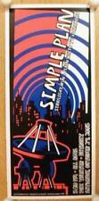 Simple Plan Detroit 2005 Original Concert Poster Silkscreen