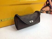 Genuine Harley Road King Heritage Springer Brown Leather Windshield Bag Pouch