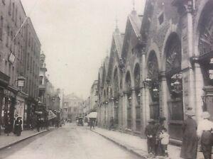 Halkett Place Le Marche Market 1920 St Helier Jersey Channel Islands Real Photo
