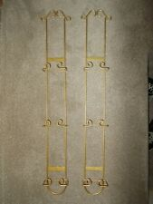 More details for pair of decorative verticle wall plate rack/display