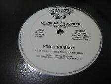 """King Errisson~Living Up On Jupiter~Shatter SH 1962 (NM), rare 12"""" single!"""