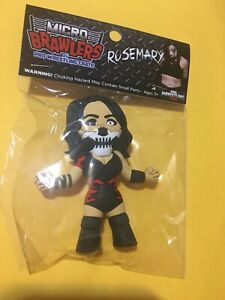Rosemary Pro Wrestling Crate Micro Brawlers Rare Figure TNA ROH IMPACT CANADA