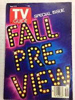 TV Guide Magazine Fall Preview September 9-15, 1989 041617nonrh