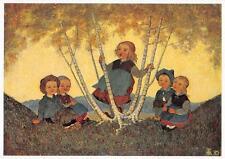 "vintage blank greeting cards ARS SACRA artist Zimmermann""childs ""3708"""