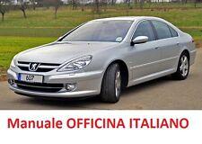 PEUGEOT 607 (2000/2010) Manuale Officina ITALIANO SU CD