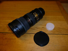 Nikon Nikkor AF-S 70-200 mm F/2.8 VR Lente E FL ED