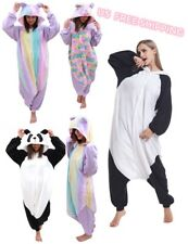 One Piece Unisex Panda Adult Pajamas Halloween Costume For Women and Men