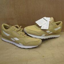 Reebok Classic Nylon P V68815 Ladies Men's Trainers Leather Beige 40,5