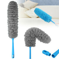 Microfiber Duster Cleaning Brush Dust Cleaner Bendable Handle Soft Ceiling Fan