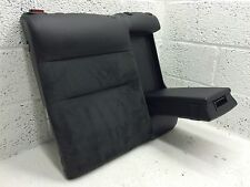 VW PASSAT B5 OS RIGHT REAR SEAT BACK WITH ARMREST BLACK LEATHER ALCANTARA