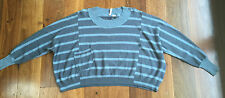 Levi's stripy jumper - size S but fits 8 / 10 / 12 to 14 - excellent condition