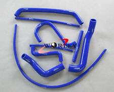 For FORD FALCON AU1 AU2 AU 1/2 4.0L 6 CYL 1998-2002 Silicone Radiator Hose blue