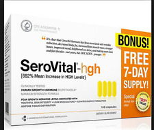 SeroVital-hgh DIETARY SUPPLEMENT 148 Capsules NEW FREE SHIP