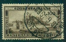 ITALY #518 100Lira brown, used, VF, Scott $125.00