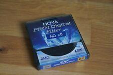 HOYA Pro1D ND x8 ND8 Filter 62mm Graufilter Digital