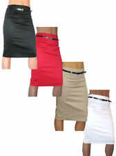 Unbranded Party Patternless Regular Size Skirts for Women