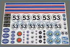 HERBIE VW Volkswagen Decals Kit Sand Scorcher Tamiya Stickers 10th Scale 1:10