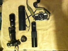 Camera, 500 mm lens and Cameras for Investigations Survieillance Package deal
