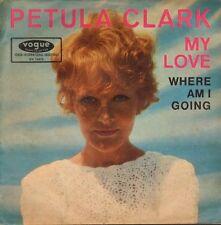 PETULA CLARK -  My Love/Where Am I Going (1966 SINGLE GERMAN PS)