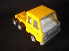 Pressed Steel Hapag-Lloyd Yellow Toy 18 Wheeler Tractor Trailer Semi Truck Cab
